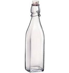 BORMIOLI ROCCO GLASS 314740 Bormioli Swing Bottle 17oz  or 0.5L