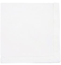 NOW DESIGNS DISC 907545 Now Design White Napkin Hemstitch