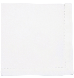 NOW DESIGNS Now Design White Napkin Hemstitch