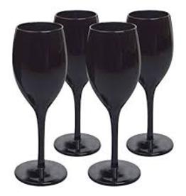 ARTLAND, INC 13611 Artland Wine Glass - Black