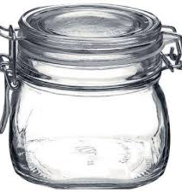 BORMIOLI ROCCO GLASS 149210 Bormioli Clear Fido Top 17.5oz Jar
