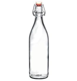 BORMIOLI ROCCO GLASS 666260 Clear Bormioli Giara Bottle Clear  1.0L/33.8 oz