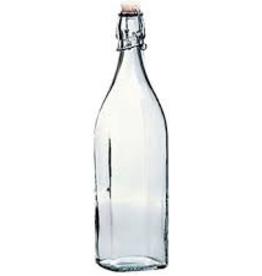 BORMIOLI ROCCO GLASS 314720 Bormioli Swing Bottle 33.75oz / 1L   20/CS