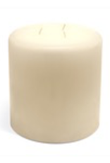 GENERAL WAX & CANDLE 483602P General Wax 3 x 6 white Column Candle
