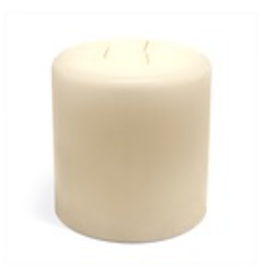 GENERAL WAX & CANDLE 483602P General Wax 3 x 6 white Column Candle 12/case