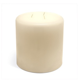 GENERAL WAX & CANDLE 483612P General Wax 3 x 6 Ivory Column Candle 12/cs