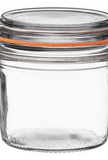 Down to Earth Dist. 910773 Le Parfait terrine glass Jar 350 gram 12 oz.