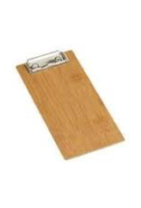 AMERICAN METALCRAFT, INC AMC Menu Holder Clipboard Bamboo mini
