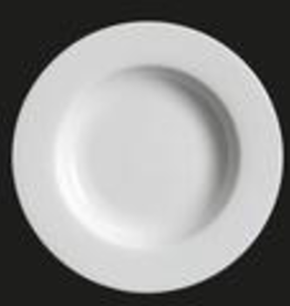 UNIVERSAL ENTERPRISES, INC. AW-0063 12'' White Rd. Pasta Plate