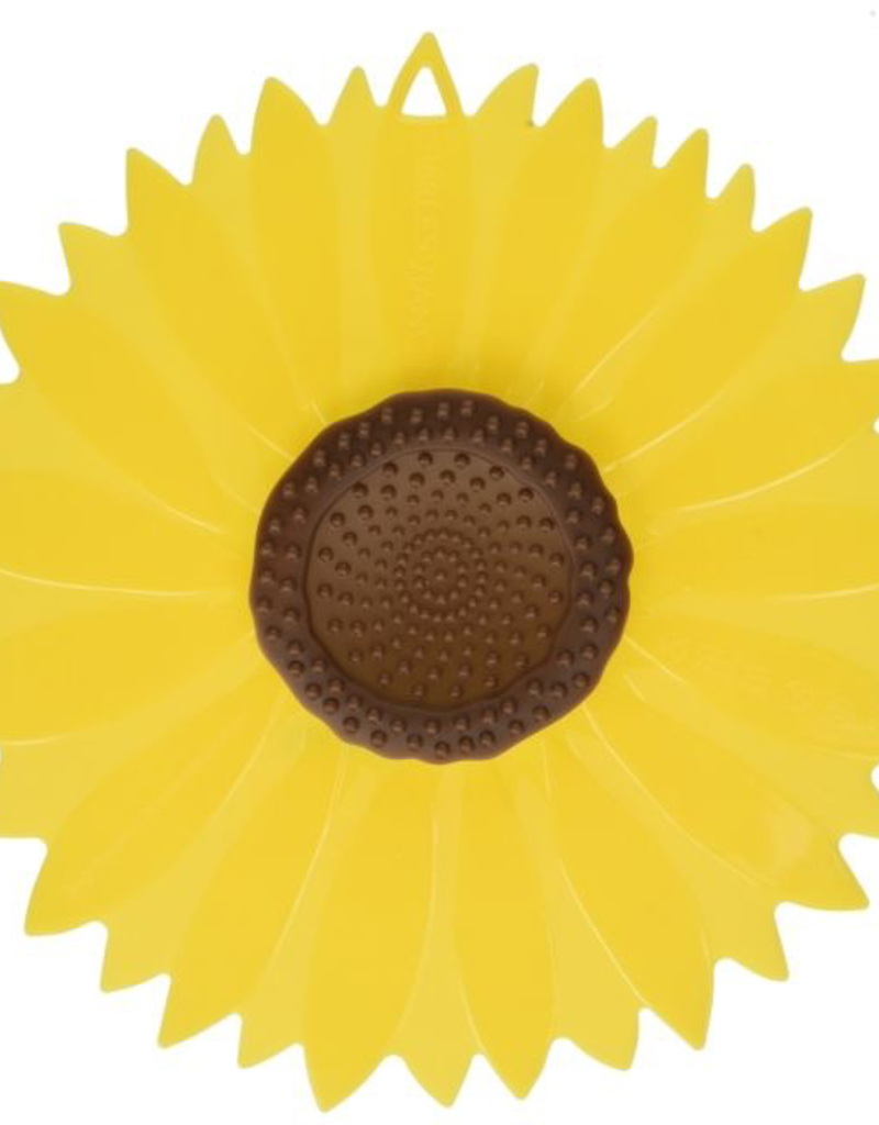 Charles Viancin 1399-CV103S 1105 CHARLES VIANCIN Sunflower Silicone Lid set of 2