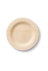 """Bambu 060100 BAMBU 7"""" Round Bamboo Plate  pack of 8"""