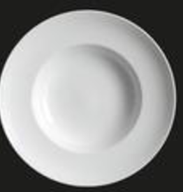 UNIVERSAL ENTERPRISES, INC. AW-0454 12'' Wide Rim Soup / Pasta Plate