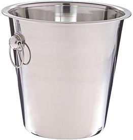 Winco 4 QT Wine Bucket s/s