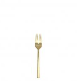 "FORTESSA 1.9B.165.00.012 Arezzo Brushed Gold Salad Fork 7"""