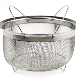 RSVP INTERNATIONAL INC M8-FH RSVP Mesh Basket with Folding Handles