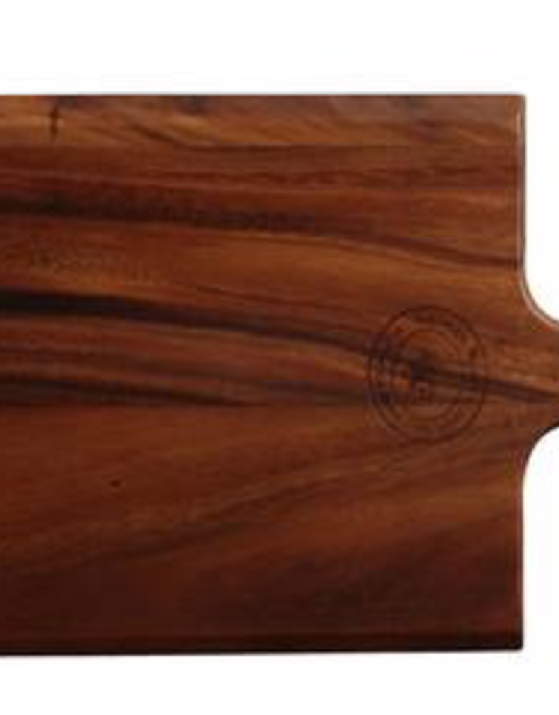 "UNIVERSAL ENTERPRISES, INC. Paddle Board 15.75x8.25"" wood Acacia 12/cs"