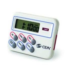 CDN COMPONENT DESIGN TM8 CDN Digital Timer & Clock/Memory Feature