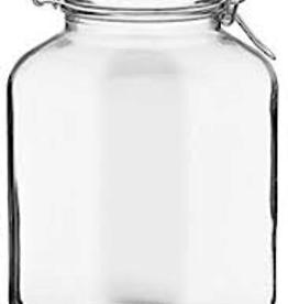 BORMIOLI ROCCO GLASS 149270 Bormioli 1.3 gallon  Fido Clear Jar 169oz