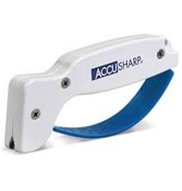 AccuSharp Fortune Products, Inc 001C ACCUSHARP Regular Knife Sharpener White/Blue