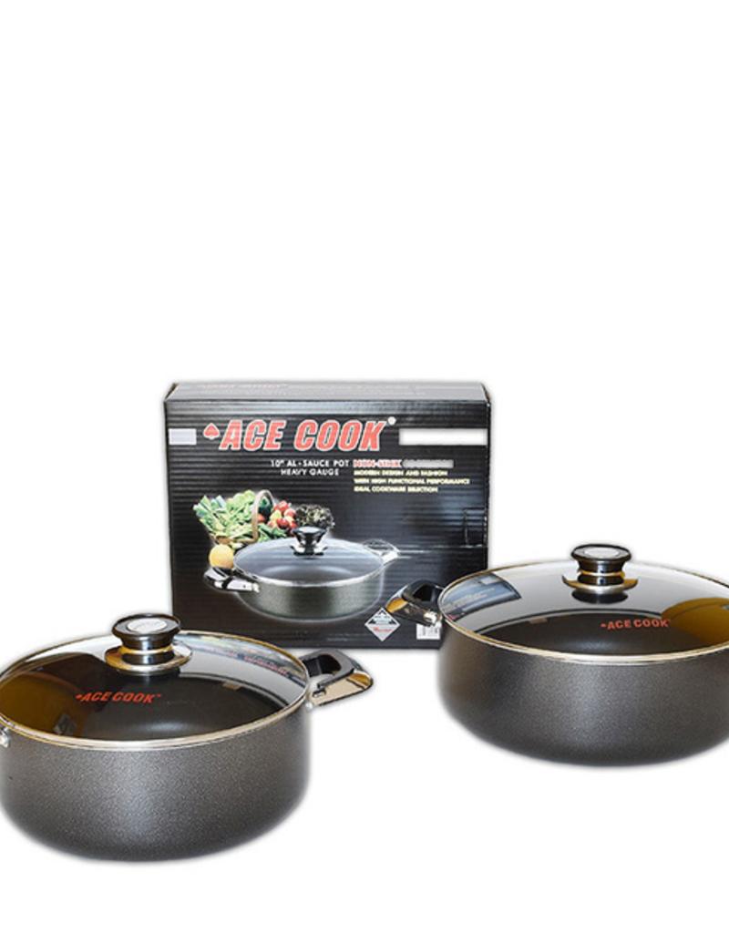 Ace Kitchenware Craft Inc KC304 ACE 4 QT Alum pot N/S coating