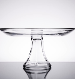 ANCHOR HOCKING 86541 Anchor Presence 10'' Tiered Platter glass cake