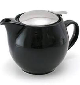 BEE HOUSE Bee House Round TeaPot Stainless Steel Black
