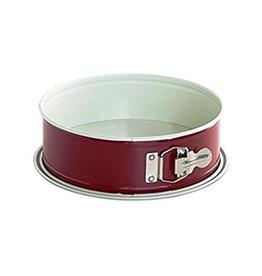 "Nordic Ware NORDIC WARE 9"" Leak Proof Red Springform Pan"