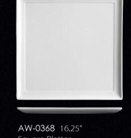 UNIVERSAL ENTERPRISES, INC. AW-0368 16.25'' Square Platter 6/cs