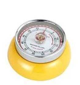 Frieling USA FRIELING Retro Timer Magnetic Yellow