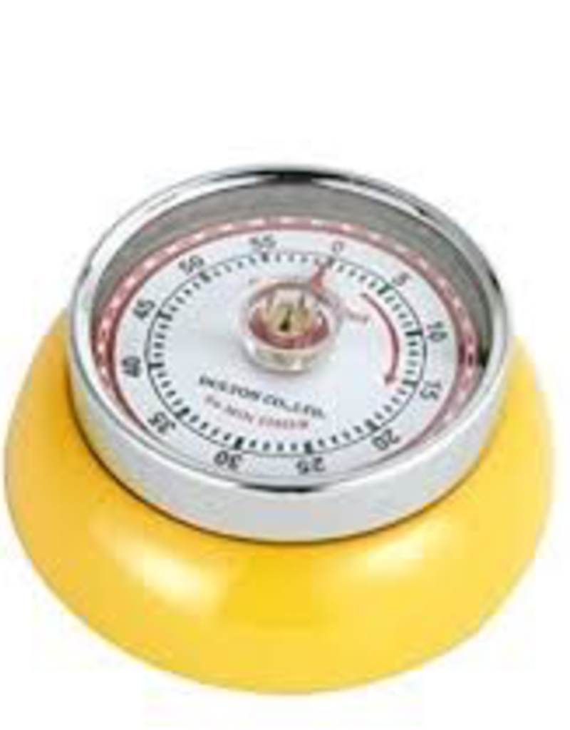 Frieling USA M072341 special order FRIELING Retro Timer Magnetic Yellow