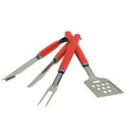 CHARCOAL COMPANY CHARCOAL Perfect Chef 3pc Barbecue Tool Set