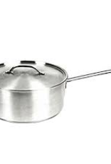 THUNDER GROUP, INC SLSSP020 Thunder  2 Qt 18/8 S/S Sauce Pan / Pot