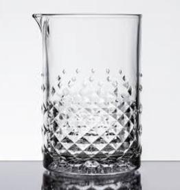 SOUTHWEST GLASSWARE Libbey Carats Clear Stirring Mixing Glass 25.25 oz 6/cs
