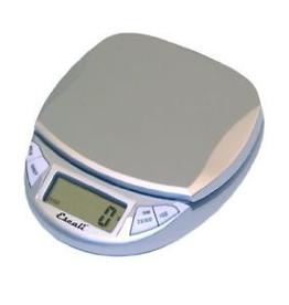 ESCALI Escali Pico, Digital Mini Scale, 11 Lb / 5 Kg, Silver- Gray