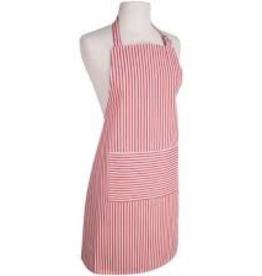 NOW DESIGNS 2500905 Now Designs Basic Apron Narrow Stripe Red
