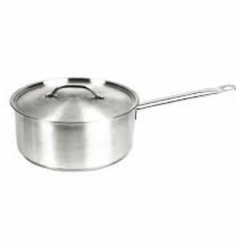 THUNDER GROUP, INC Thunder 3 1/2 Qt 18/8 S/S Sauce Pan