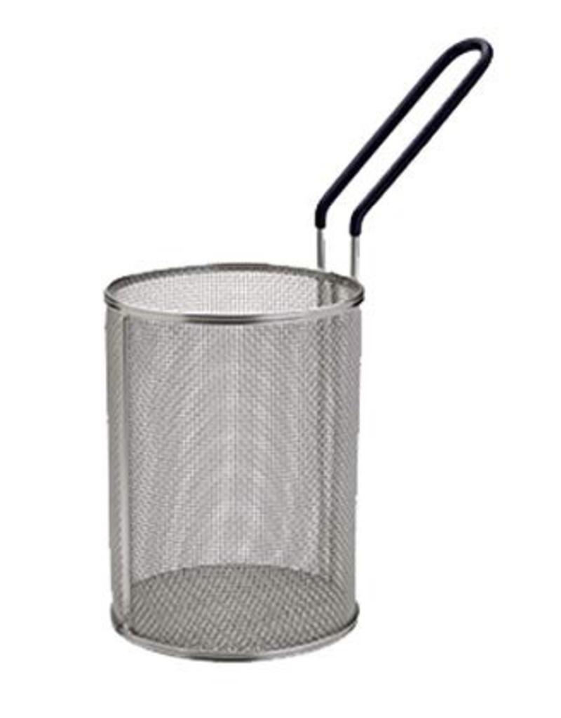 """MPN-57 WINCO S/s Pasta Basket 5.25"""" dia x 7"""" H"""