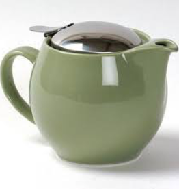 BEE HOUSE Bee House Round TeaPot Stainless Steel Artichoke