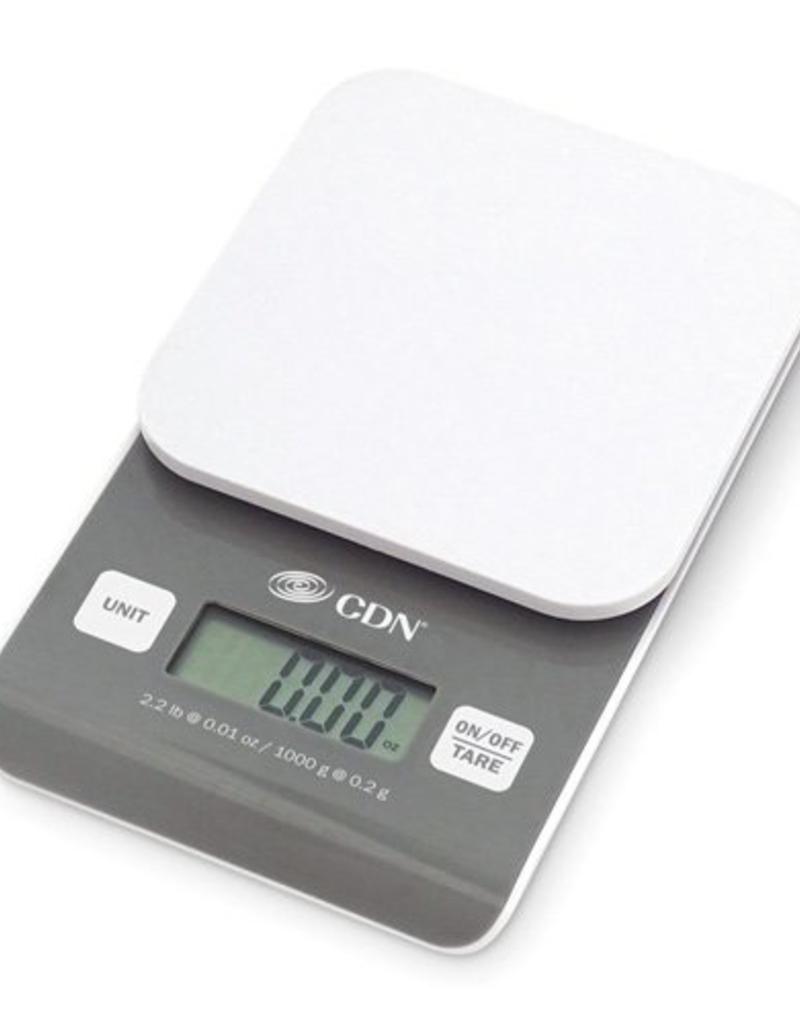 CDN COMPONENT DESIGN SD0202 CDN Digital Precision scale, 2.2 lbs