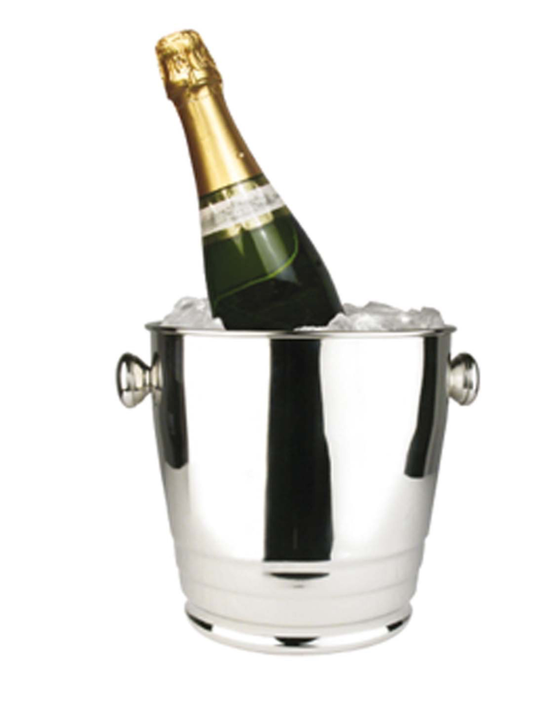WB-4HV Winco Heavy Wine Bucket With Ribs 4qt