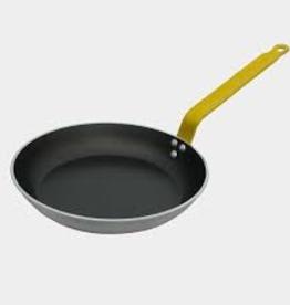 De buyer 8070.28 Round Non-stick gandle 28 Cm Yellow Handle