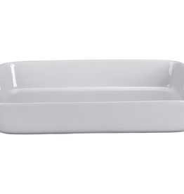 BIA CORDON BLEU 901586 BIA Rectangular Baker With Handle 6 QT White