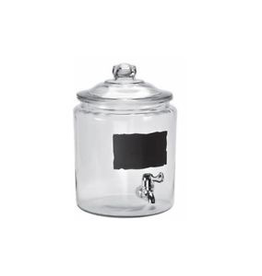 ANCHOR HOCKING 93453 special order Anchor 2 gal heritage dispenser with chalk