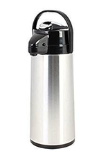 THUNDER GROUP, INC ASLG025 special order Thunder 2.5L 84oz Airpot S/S Body Glass Lined Lever Top