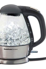 EDGECRAFT 6800001 EDGECRAFT Chef's Choice Cordless Electric Glass Kettle