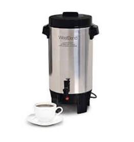 58002 West Bend 42-Cup Aluminum Coffee Urn