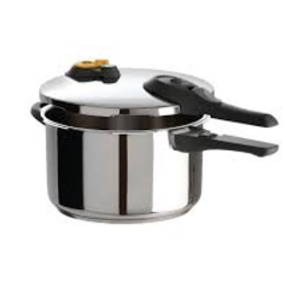 T-Fal Cookware T-FAL Pressure Cooker 6.3 qt stainless Steel