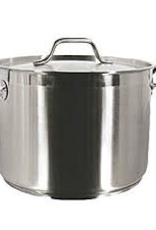 THUNDER GROUP, INC SLSPS024 Thunder 24 Qt 18/8 S/S Stock Pot w/ Lid