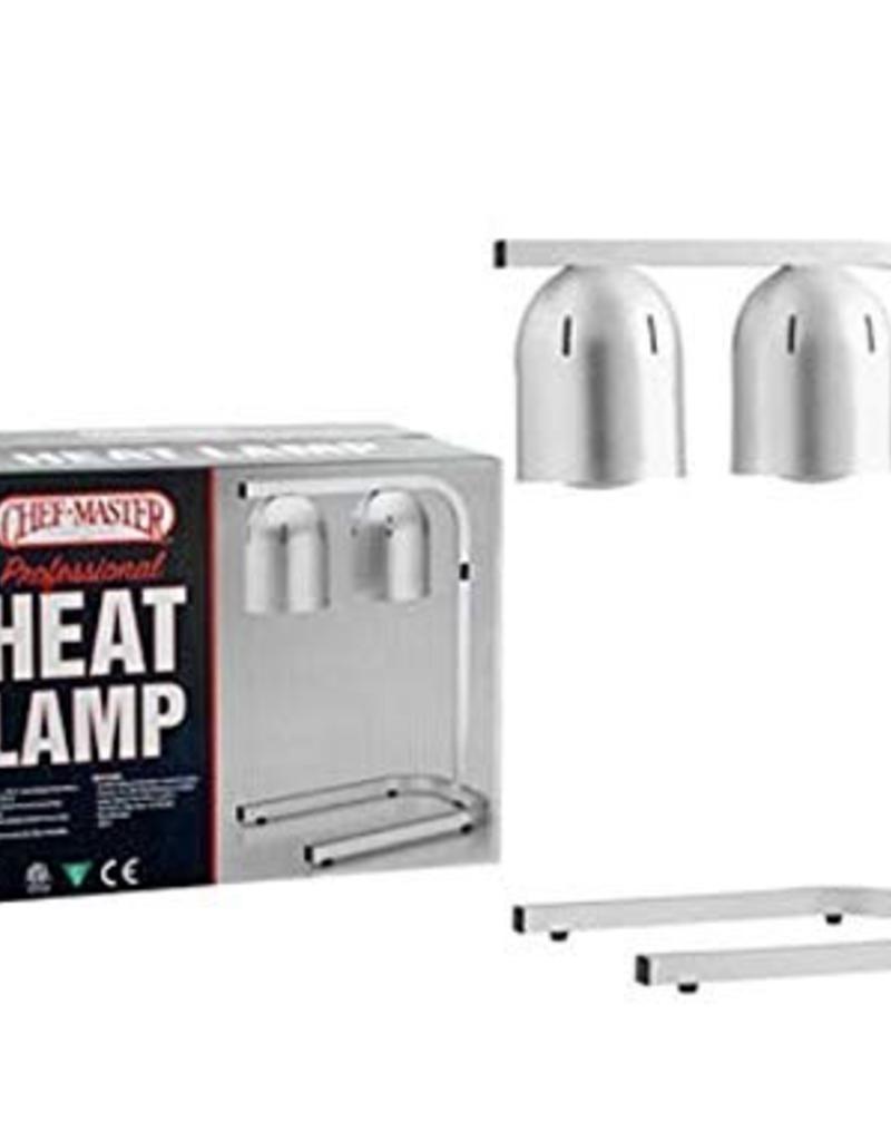 Chef Master 90050 Chef Master Heating Lamp model HL-2C 250 Watts Each Lamp
