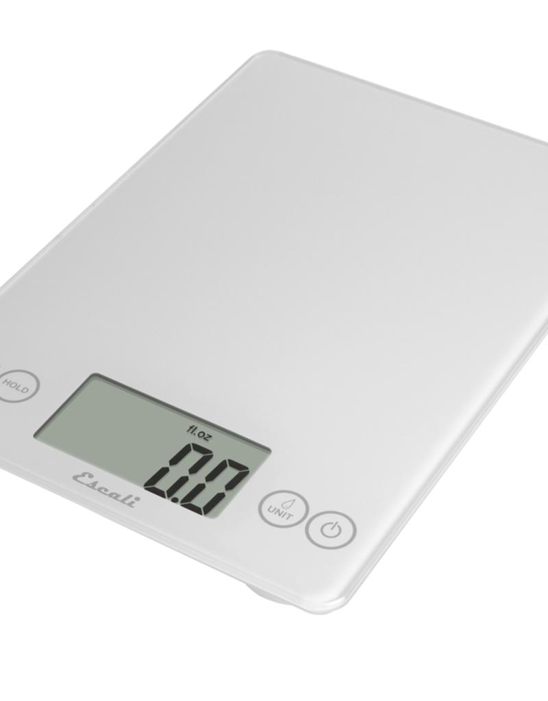 ESCALI ESCALI Arti Digital Glass Scale 15 Lb / 7 Kg Frost White